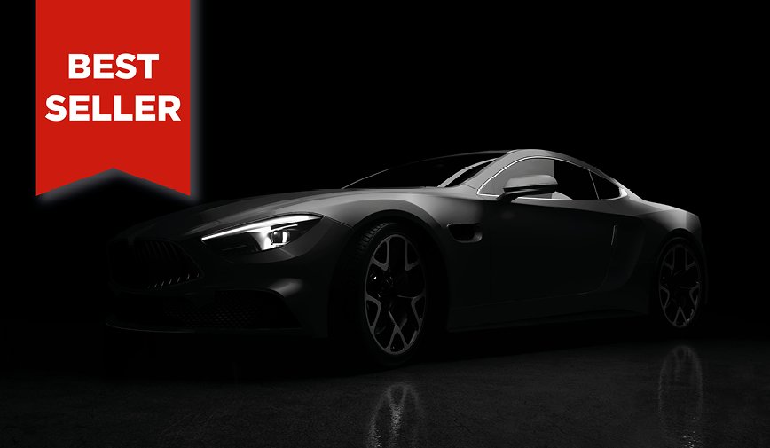 PCC Gloss Black 503 - Sports Car Web bestseller