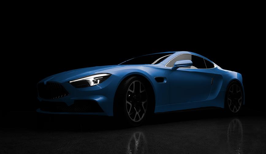 PCC Gloss Blue Grey 408 - Sports Car Web