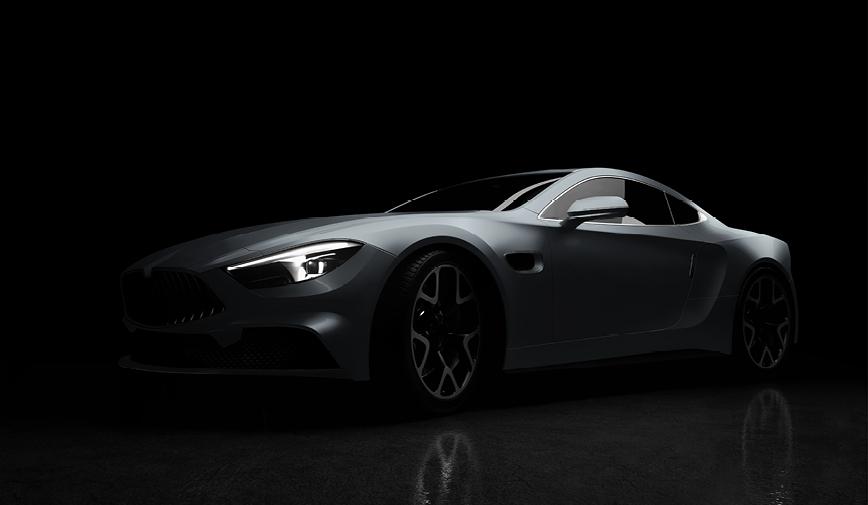 PCC Gloss Grey 413 - Sports Car Web