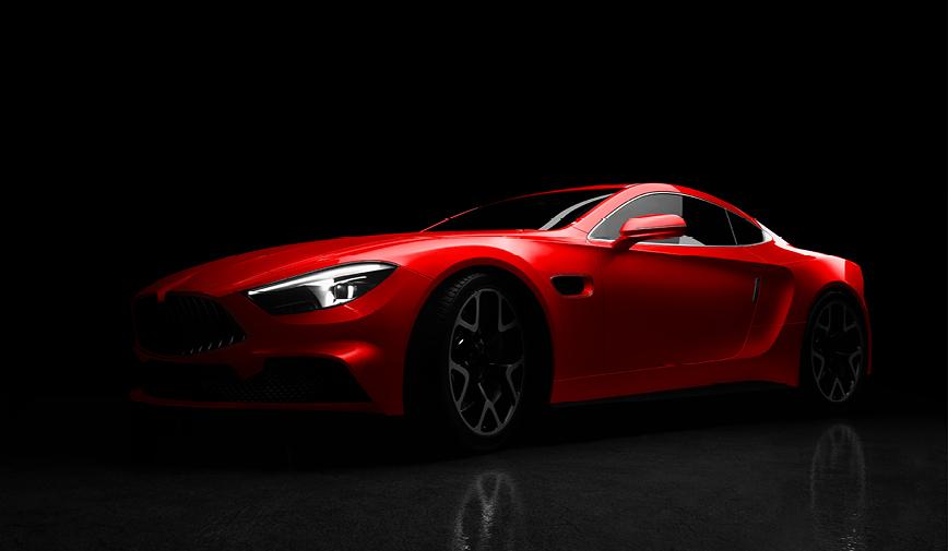 PCC Gloss Red 401 - Sports Car Web