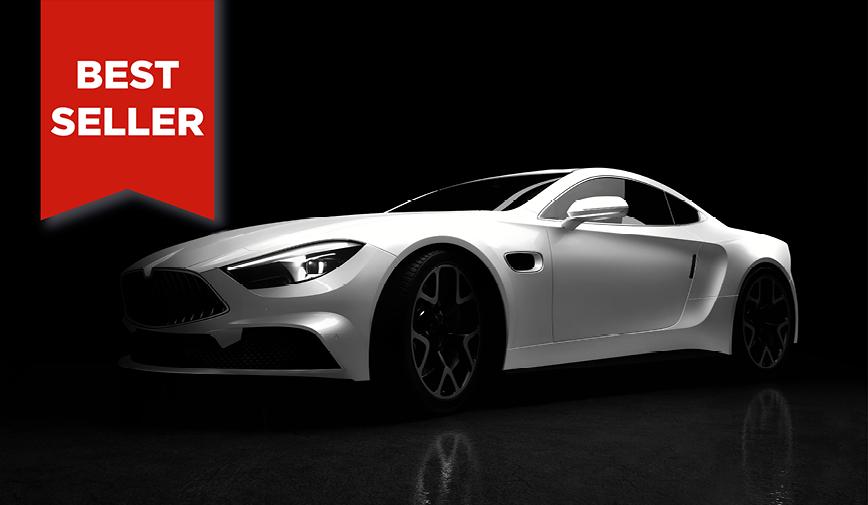 PCC Gloss White 503 - Sports Car Web bestseller