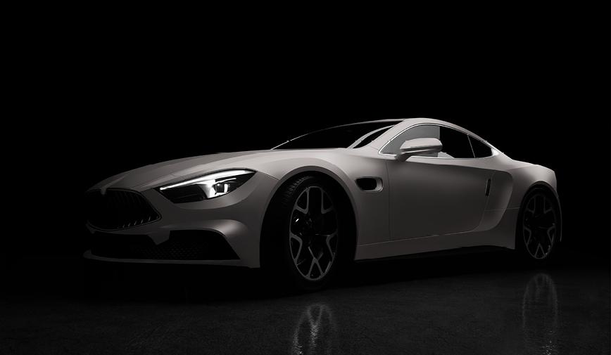 PCC Matte Aluminium Grey 558 - Sports Car Web