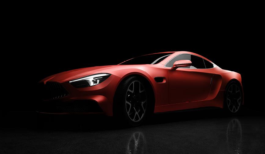 PCC Matte Aluminium Red 551 - Sports Car Web