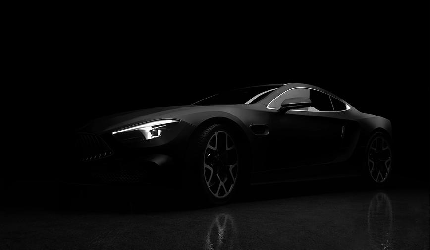 PCC Matte Black 503 - Sports Car Web