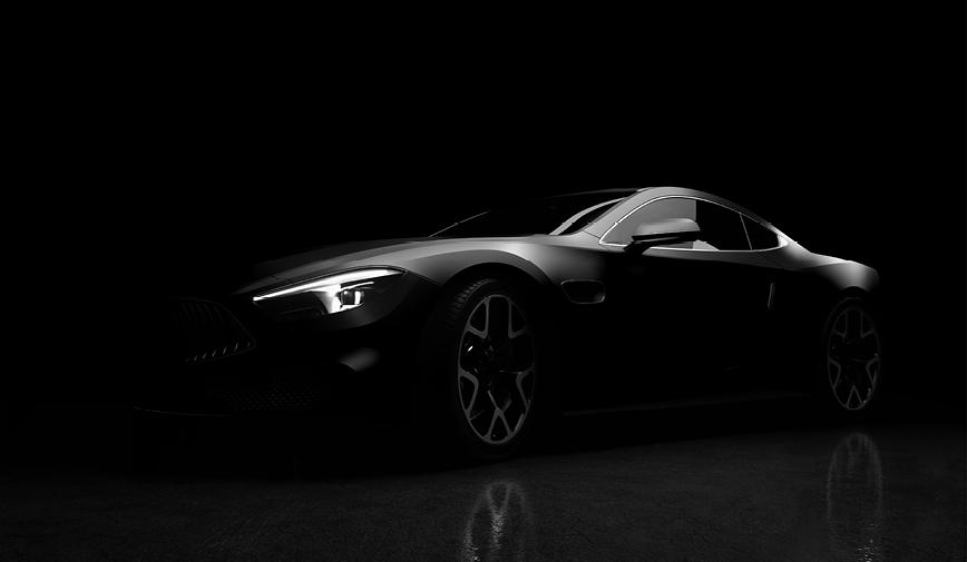 PCC Satin Black 453 - Sports Car Web