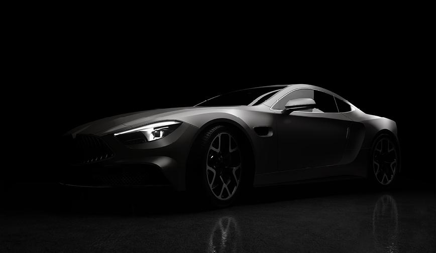 PCC Satin Charcoal Metallic 454 - Sports Car Web