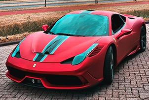 Xcar Alu Red Ferrari small